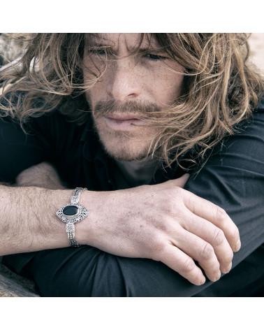 Mädchen Geschenk-Armband-Feine Steine-Solid Silber-Soft Ring-Frau