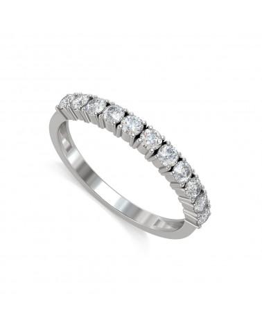 Anelli Oro Diamanti 1.57grs