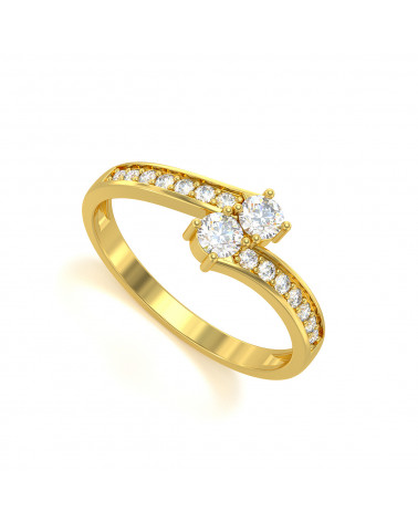Gold Diamonds Ring