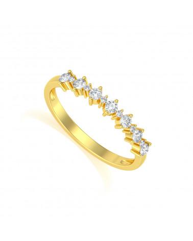 Anelli Oro Diamanti ADEN - 1