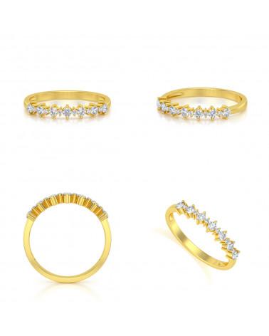 Anelli Oro Diamanti ADEN - 2