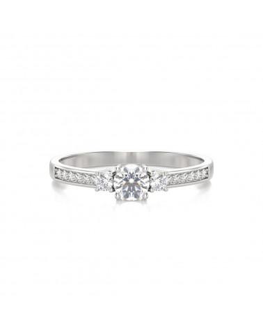 Anelli Oro Diamanti 1.7grs ADEN - 3