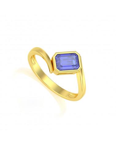 Anelli Oro Tanzanite ADEN - 1