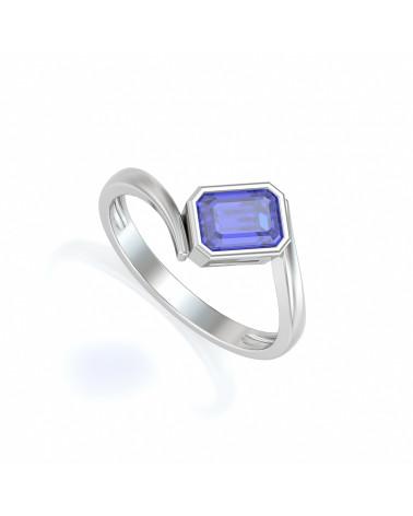 925 Silber Tanzanit Ringe ADEN - 1