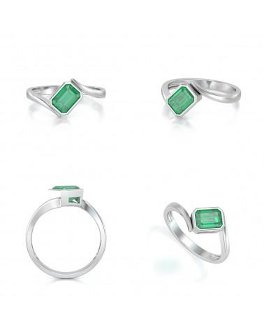 Anelli Oro Smeraldo ADEN - 3